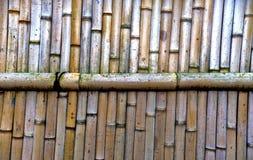 Natural bamboo wall background texture Royalty Free Stock Photos