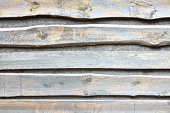 Natural Barn Timber Wall Made From Rough Overlapped Pine Boards royalty free stock photos