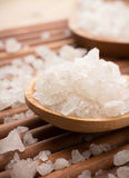 Bath salt. Royalty Free Stock Images
