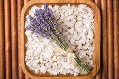 Bath salt. Stock Photos