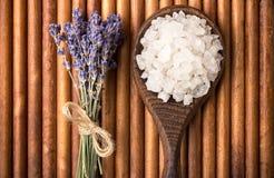 Bath salt. Royalty Free Stock Photos