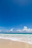 A natural beach Royalty Free Stock Photography