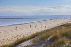 Natural beach environment uk coast Stock Photo