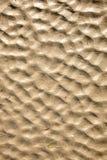 Natural beach sand ripples. Stock Photo