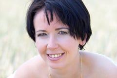 Natural beautiful girl Stock Photos