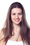 Natural beautiful girl portrait Stock Photos