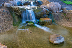Natural beautiful waterfall Royalty Free Stock Photo