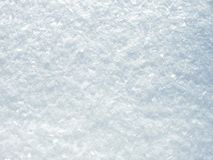 Natural white snow texture Royalty Free Stock Photography