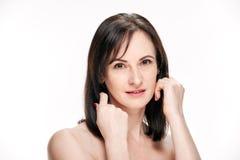 Natural beautiful woman Royalty Free Stock Photos