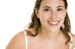 Natural Beauty 4. An attractive and natural young woman with a great smile Royalty Free Stock Photos