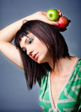Natural beauty artistic portrait Royalty Free Stock Photo