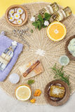 Natural beauty care Stock Photo
