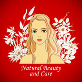 Natural beauty and care Stock Photos