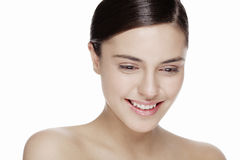 Natural beauty face Stock Image