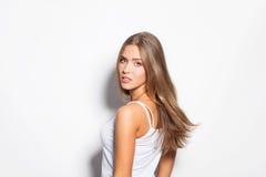 Natural beauty girl Stock Photo