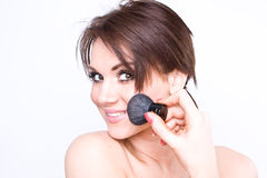 Natural beauty make-up Royalty Free Stock Photography