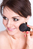 Natural beauty make-up Stock Image