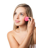 Natural beauty makeup girl Royalty Free Stock Photography