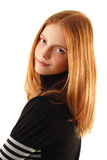 Natural beauty - no make-up young woman Royalty Free Stock Images