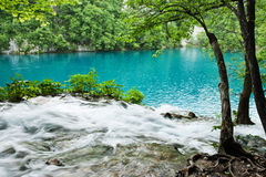 Natural beauty, Plitvice lakes, Croatia Royalty Free Stock Photography