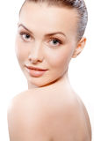 Natural beauty portrait Royalty Free Stock Image