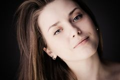 Natural beauty portrait Royalty Free Stock Photo