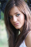 Natural beauty portrait Royalty Free Stock Images