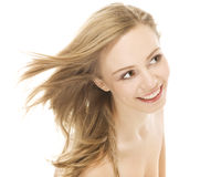 Natural beauty portrait an attractive sexual girl Stock Photo
