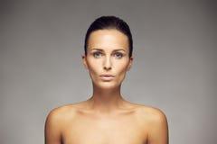 Natural Beauty portrait Stock Photo