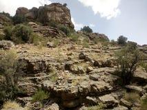 Jabal Akhdar, Ad Dakhiliyah, Oman. Natural beauty and some awesome caption of Jabal Akhdar, Ad Dakhiliyah, Sultanat of Oman royalty free stock photo