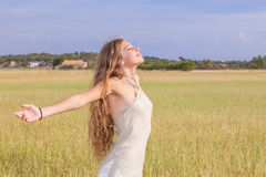 Natural beauty summer sunshine Royalty Free Stock Images