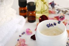 Natural beauty treatment Stock Images