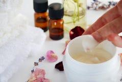 Natural beauty treatment Stock Photography