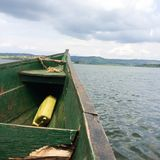 Jinja Uganda Source of the Nile River. Natural Beauty in Uganda is found in all regions of the country Stock Images