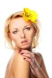 Natural Beauty woman royalty free stock photography