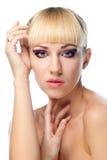 Natural Beauty woman Stock Photo