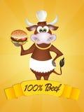 100% natural beef Royalty Free Stock Image