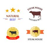 The natural beef Stock Photography