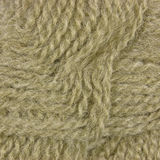 Natural beige fine wool threads texture detail yarn clew macro closeup background detailed textured pattern Stock Photo