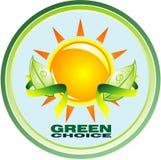 Natural and Bio symbol tag Stock Image