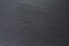 Natural black slate background Stock Photography