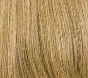 Natural Blond Hair Background Stock Photo