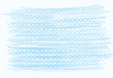 Natural blue abstract pencil texture. For creating of template banners, fashion backdrops and design effects Royalty Free Stock Images