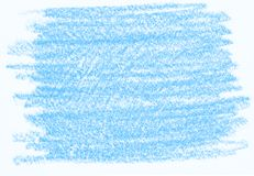 Natural blue abstract pencil texture. For creating of template banners, fashion backdrops and design effects Stock Image