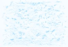Natural blue abstract pencil texture. For creating of template banners, fashion backdrops and design effects Royalty Free Stock Photography