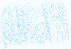 Natural blue abstract pencil texture. For creating of template banners, fashion backdrops and design effects Stock Photos