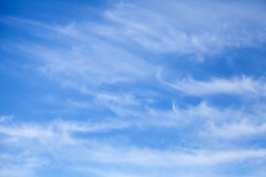 Natural blue cloudy sky background texture Stock Image