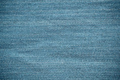 Natural blue linen texture for the background Royalty Free Stock Photo