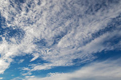 Natural blue sky with clouds formation Royalty Free Stock Images
