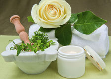 Natural for body care Royalty Free Stock Images